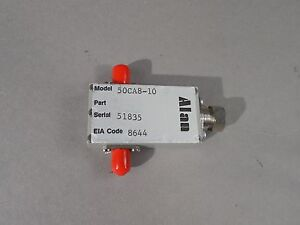 Alan Variable Attenuator Model 50ca8 10 Eia Code 8644