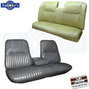 1970 Buick Riviera Custom Front Rear Seat Covers Upholstery Pui