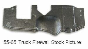 1964 1966 Chevy Truck 1 2 Ton With Heater Firewall Pad