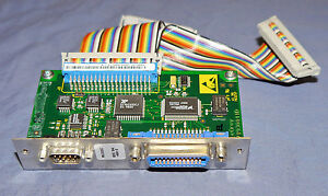 Lecroy Lc584 Dda 125 Oscilloscope Hpib 488 Printer Controller Interface Card