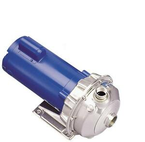 Goulds Water Technology 2st1g5c4 Stainless Steel Centrifugal Pump New 3966