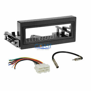Car Radio Stereo Install Dash Kit Wire Harness For 1995 up Gmc Chevy Cadillac