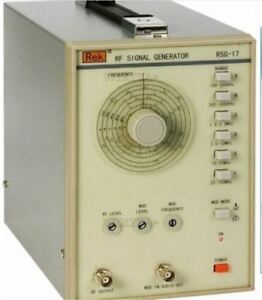 Uk1 220v Signal Generator High Frequency 100khz 150mhz Lt