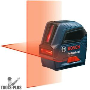 Bosch Gll55 1 5v Self leveling Cross line Laser New