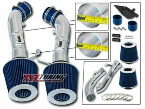 3 5 Blue Heat Shield Cold Air Intake Filter For 09 16 370z 08 13 G37 3 7l V6