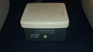 Corning Hot Plate Pc 35 rc Ceramic Remote Heating Tested And Working c11b5