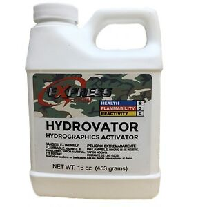 Hydrovator Hydrographic Hydro Dip Dipping Water Transfer Activator 16oz Pint