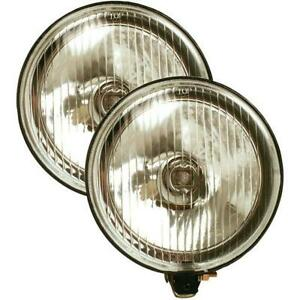 Pilot Navigator 6 Round Driving Light W Cover Clear Nv 331