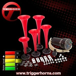 Trigger Horns Southern Belle 5 Trumpet Southern Dixie Horn Kit Trgh170