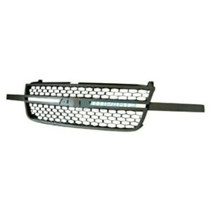 New Front Grille Fits 2003 2006 Chevrolet Silverado 1500 Hd Gm1200586
