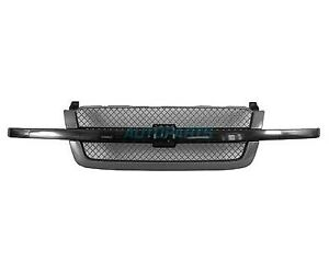 New Front Grille Fits 2003 2006 Chevrolet Silverado 1500 Gm1200557