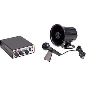 Wolo 345 12v Animal House Electronic Horn sirens public Announcement System