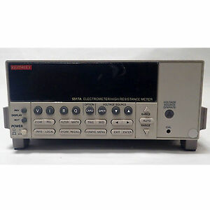 Keithley 6517a Electrometer High Resistance Meter