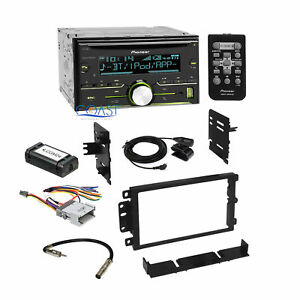 Pioneer Radio Stereo 2 Din Dash Kit Interface Harness For 1992 up Gm Chevrolet