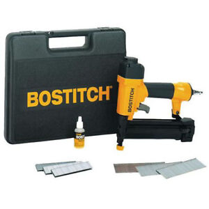 Bostitch 18 gauge 2 1 Brad Nailer And Finish Stapler Kit Sb 2in1 New