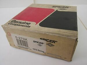 New In Box Spicer Dana Genuine Components 5 279x 1610series U joint Kit 42227wvs