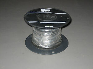100 Ft Alpha Wire 5610b2201 20 2 20awg 1 Pair 7 30 Foil Shield 300v Black