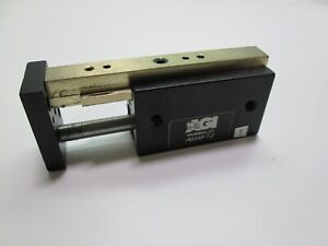 Agi Agms 1 2 Mini Powered Slide Linear Actuator Air Cylinder 1 Stroke 20 120psi