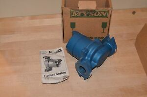 Myson Cast Iron Circulating Pump 165 45 Comet Series Smc 165f 45 120v England