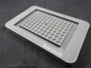 Biocision Coolsink 96 well Thermo conductive Cooling Working Rack Sbs footprint