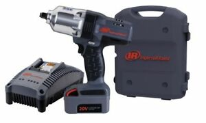 Ingersoll Rand Ir 7150 K1 20v 1 2 Cordless High Torque 1 100 Ft Lbs Impact Kit