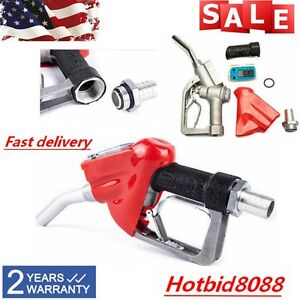 Gasoline Diesel Oil Petrol Nozzle Digital Fuel Delivery Gun W Flow Meter 1