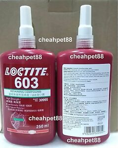 Loctite 603 Retaining Compound 250ml Free Shipping Usa