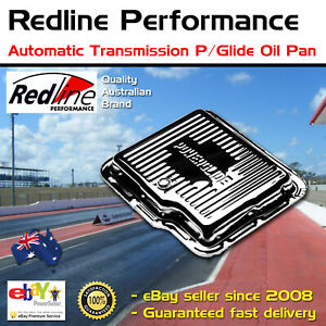 Redline Chrome Automatic Transmission Pan Fits Chev Holden Power Glide Oil Pan