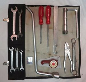 1965 66 Porsche 911 Swb Tool Kit Toolkit Absolutely Beautiful Condition