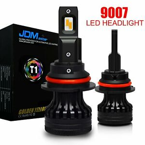 Jdm Astar G4 6500k Xenon White 9007 Hb5 Extremely Bright Led Headlights Bulbs 2x