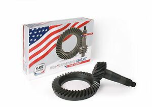 Gm 12 Bolt Car 4 56 Thick Ring And Pinion Us Gear Set Chevy Camaro Chevelle