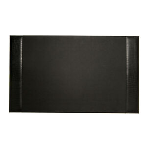 Bey Berk Desk Pad Black croco Leather