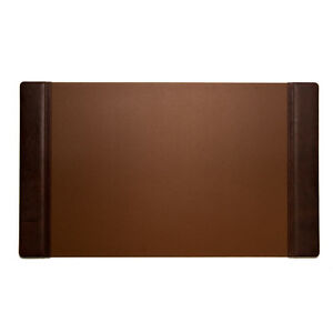 Bey Berk Desk Pad Tan Leather 20 x34