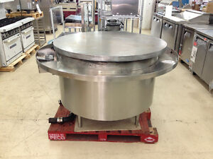 60 Mongolian Barbecue Flat Grill Gas Range