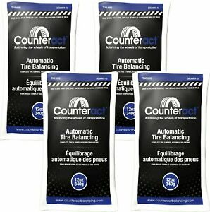 4 Bags 12 Ounce Counteract Tire Balancing Beads 12 Oz