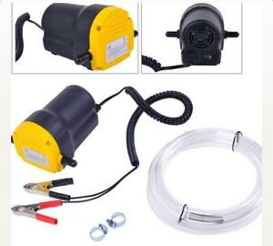 12v Oil Diesel Fluid Extractor Transfer Scavenge Suction Pump Car Motorcycle New