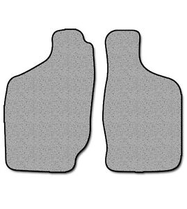 1998 2004 Fits Nissan Frontier 2 Pc Front Factory Fit Floor Mats