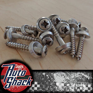 Solid Stainless Steel Countersink Wood Finish Screws With Washers Pozi Pozidriv