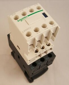 Kci 25 Amp Contactor W schneider Auxiliary Contact Block Ladn22