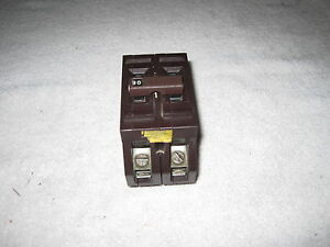 Wadsworth 90 Amp 2 pole Breaker Type C A