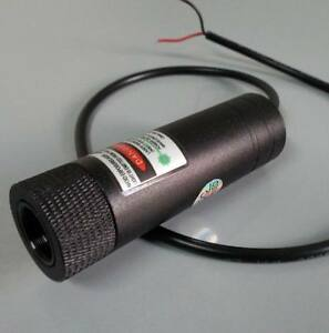Focusable 1000mw 1w Green Laser Module 5v Dot Beam Line Beam Low Temperature