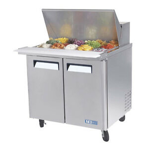 Turbo Air Mst 36 15 36 inch Mega Top Refrigerated Salad Sandwich Prep Table
