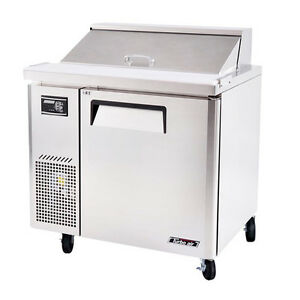 Turbo Air Jst 36 36 inch Refrigerated Salad Sandwich Prep Table With One Doo