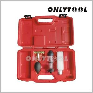 Combustion Gas Leak Tester Detector Auto Tools Head Gasket Cylinder Engine Block
