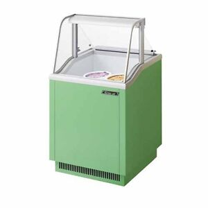 Turbo Air Tidc 26g n 26 inch W Ice Cream Dipping Cabinet Green