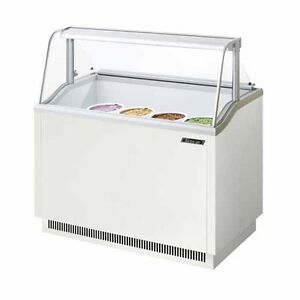 Turbo Air Tidc 47w n 47 inch W Ice Cream Dipping Cabinet White