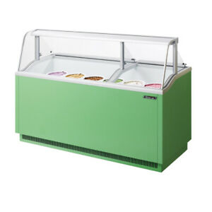 Turbo Air Tidc 70g n 70 inch W Ice Cream Dipping Cabinet Green