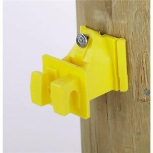 6 Pk Dare Nail On Wood Post Electric Fence Wire Insulator 25 pk 1728 25