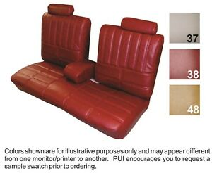 1979 Oldsmobile Cutlass Supreme Coupe Front Seat Cover Pui
