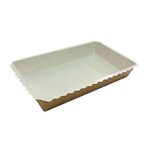 Safepro Ecobake600 Kraft Take out Food Tray 420 piece Case